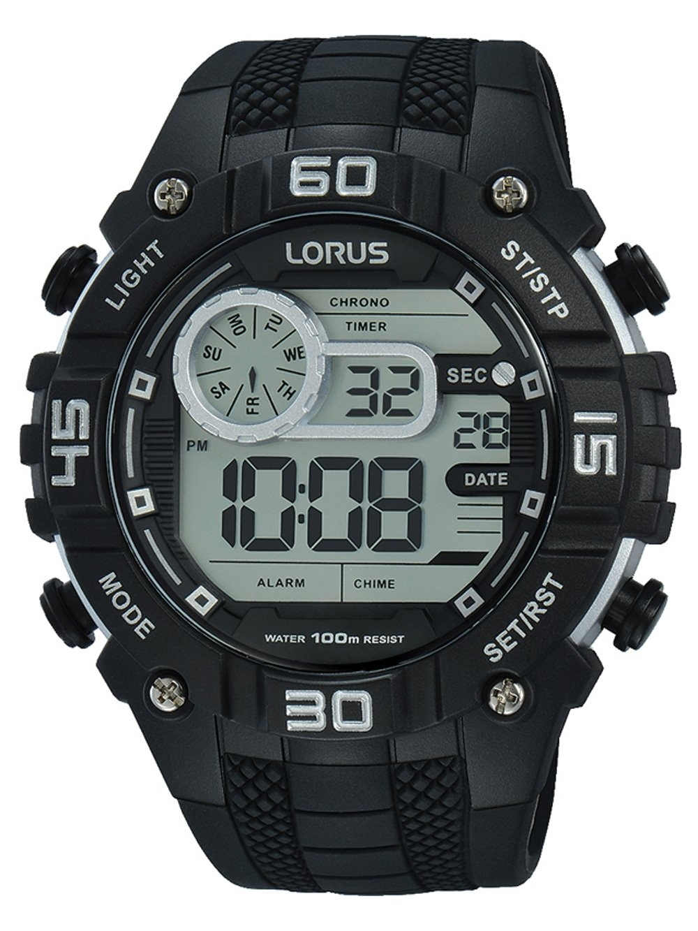 Ceas barbatesc Lorus R2351LX9 Digi Chrono 50mm 10ATM