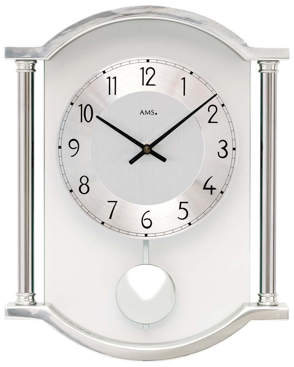 ceas de perete ams 7448 quarz pendul