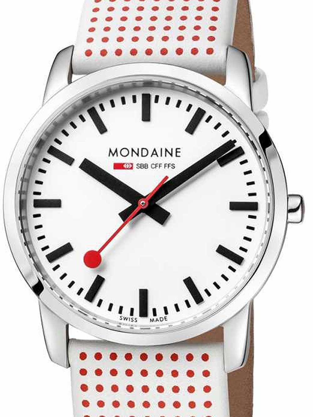 ceas de dama mondaine a400.30351.11sba simply elegant safir 36mm 3atm