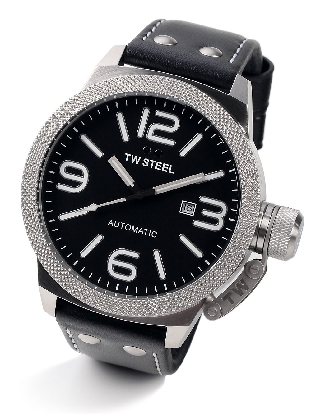 montres chrono12 tw steel twa951 canteen automatik 50mm 10atm. Black Bedroom Furniture Sets. Home Design Ideas