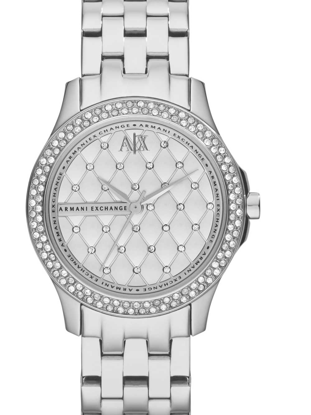 ceas de dama armani exchange ax5215 hampton 36mm 5atm