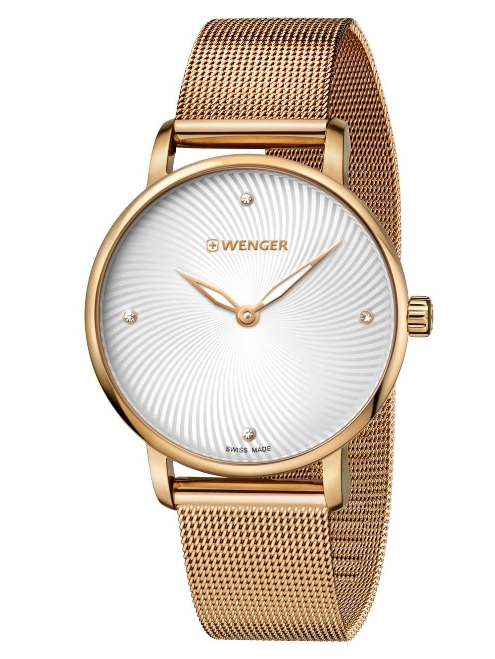 ceas de dama wenger 01.1721.114 saphir 35 mm 10 atm