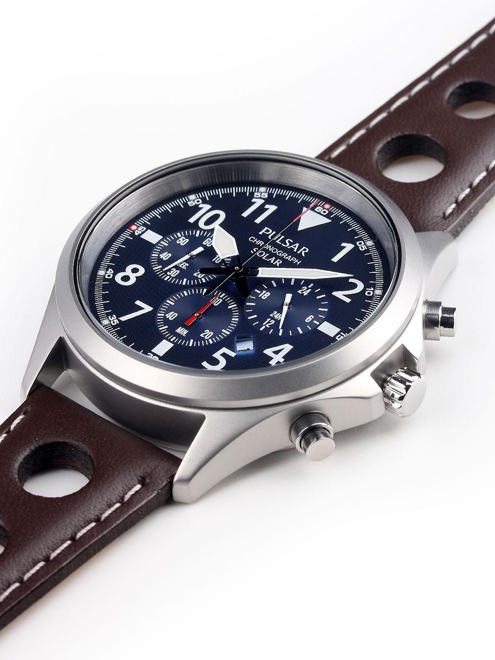 Watches Chrono12 Pulsar Px5029x1 Solar Chrono 43mm