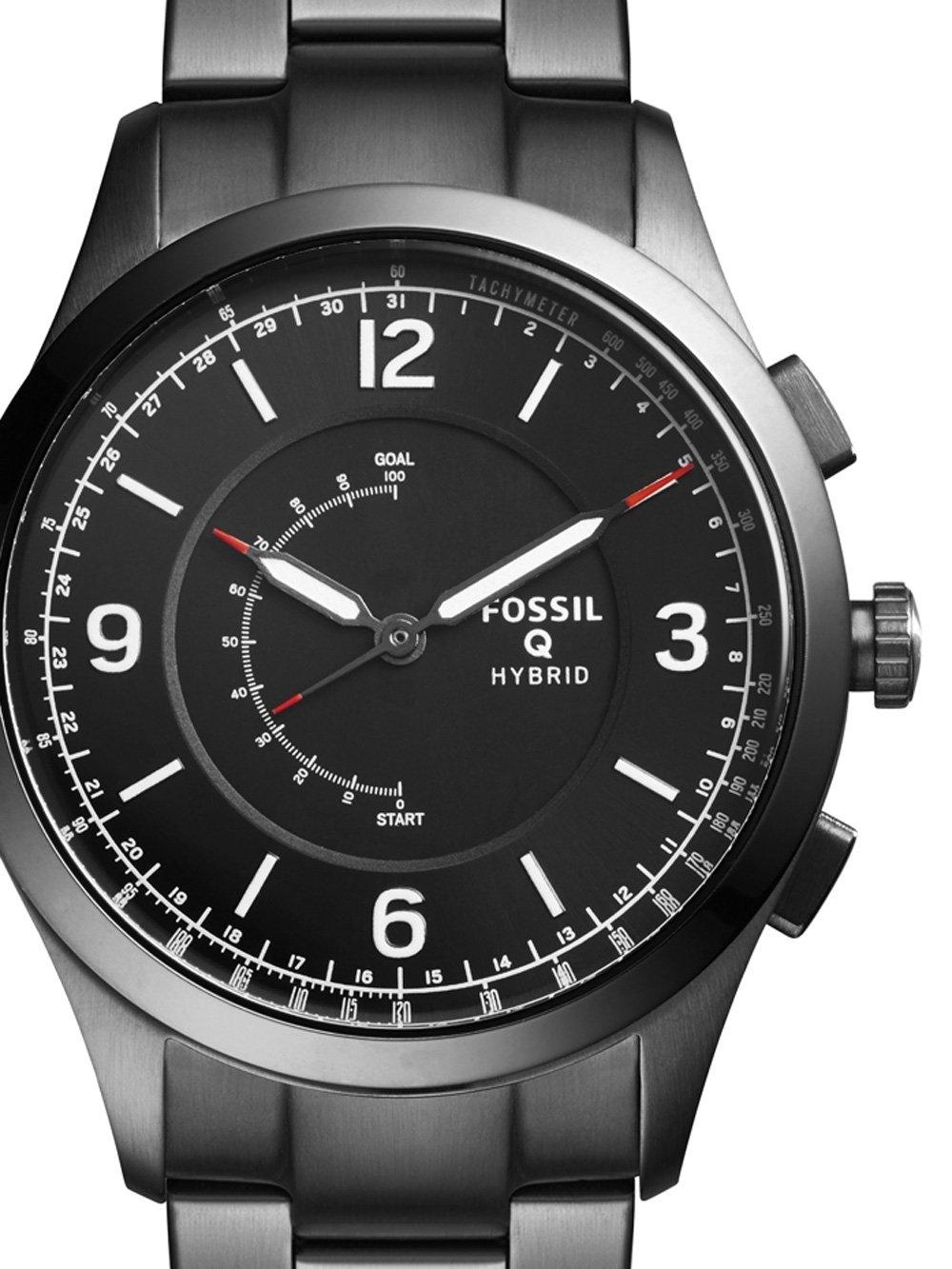 ceas barbatesc fossil q ftw1207 activist hybrid smartwatch 42mm 5atm