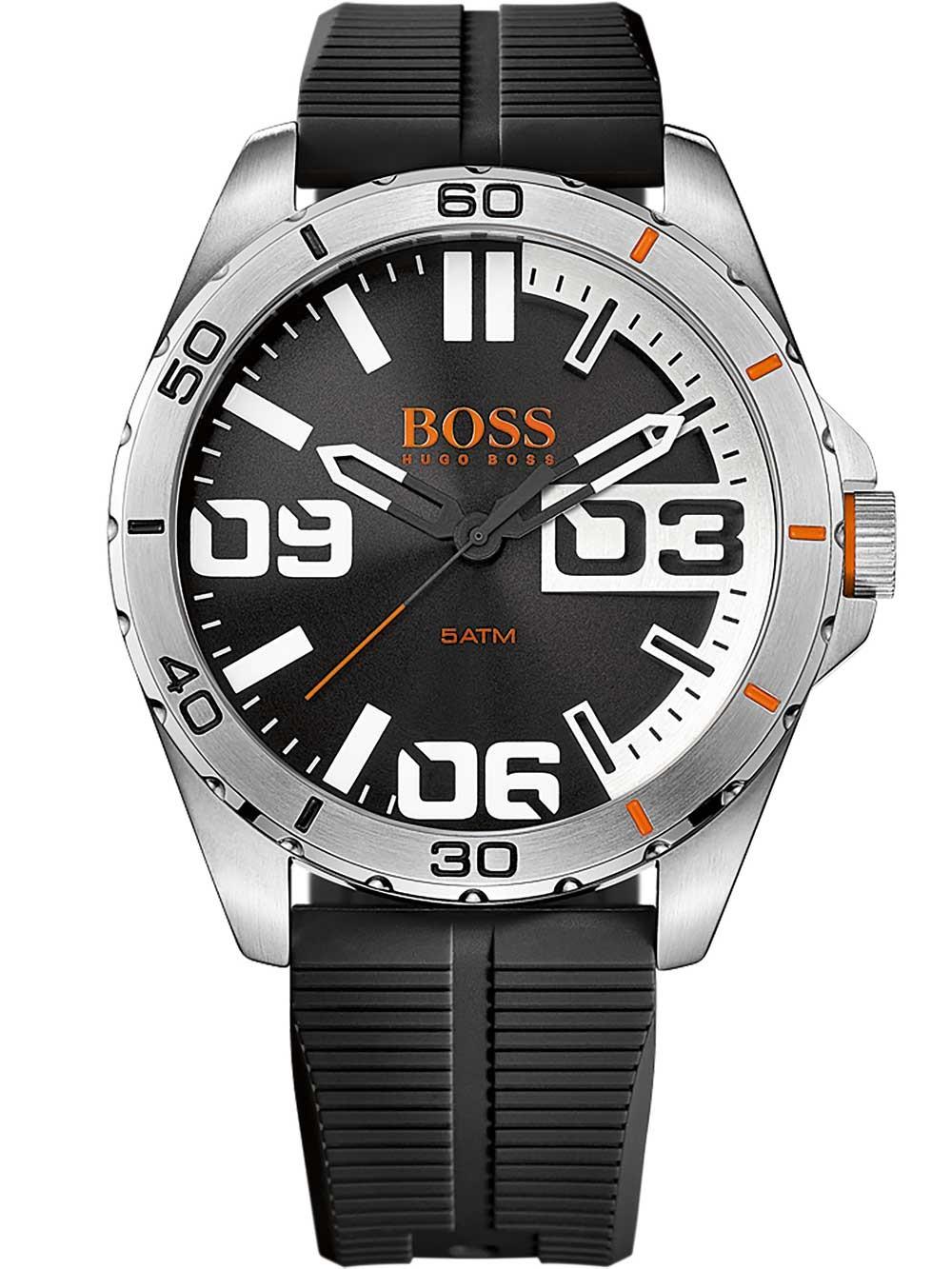 ceas barbatesc hugo boss orange 1513285 berlin 5atm 48mm