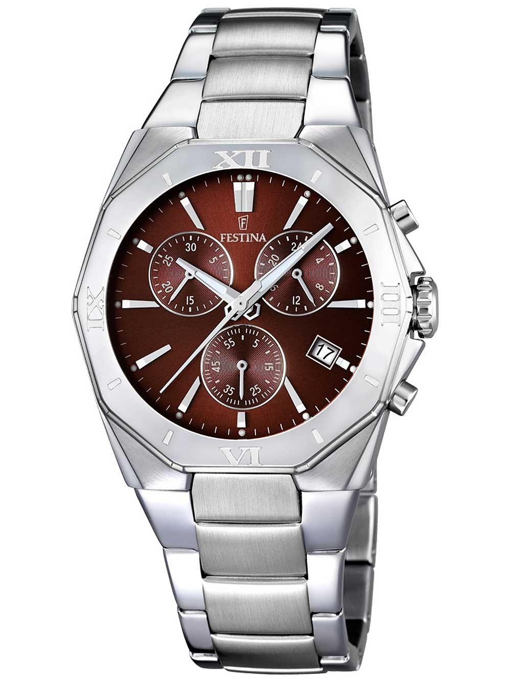 festina f16757/3 chronograph herren 40mm 5atm