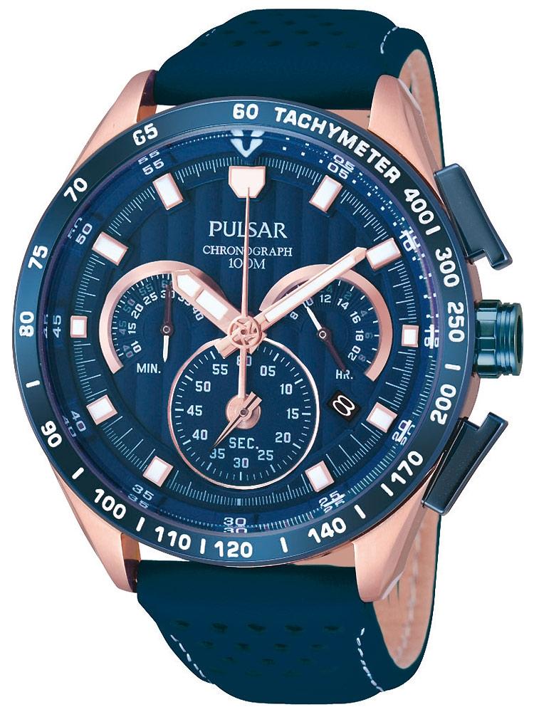 ceas barbatesc pulsar pu2082x1 cronograf 44 mm 10 atm