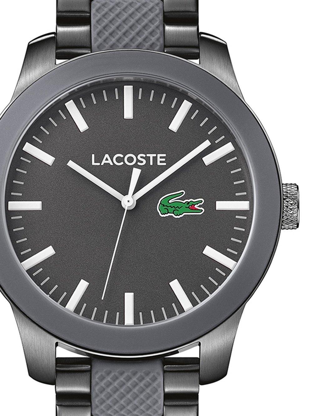ceas barbatesc lacoste 2010923 12.12 43mm 5atm