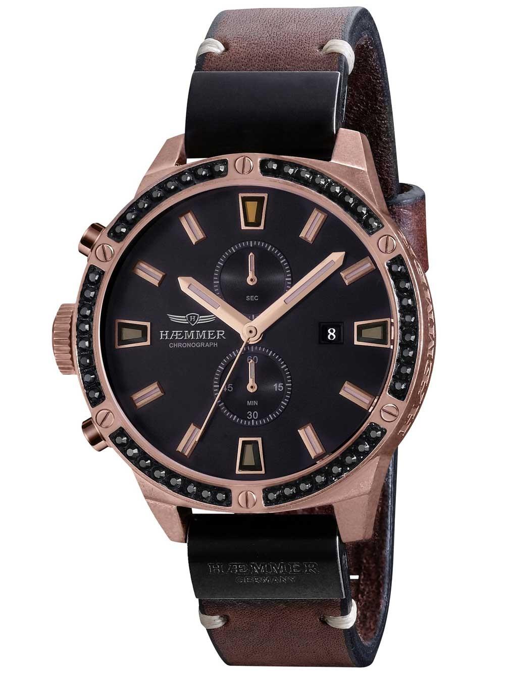 ceas de dama haemmer dcr-04-d donata chrono. limited 45mm 10atm
