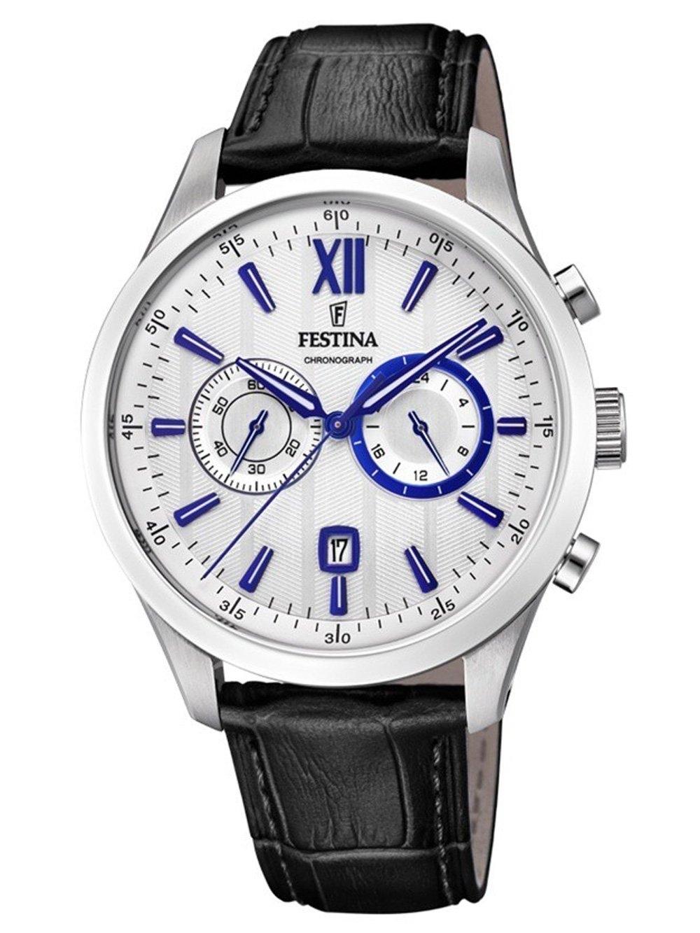 ceas barbatesc festina f16996/2 sport chrono 44mm 5atm