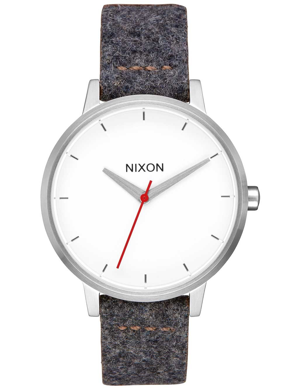 ceas de dama nixon a108-2476 kensington leather 37mm 5atm