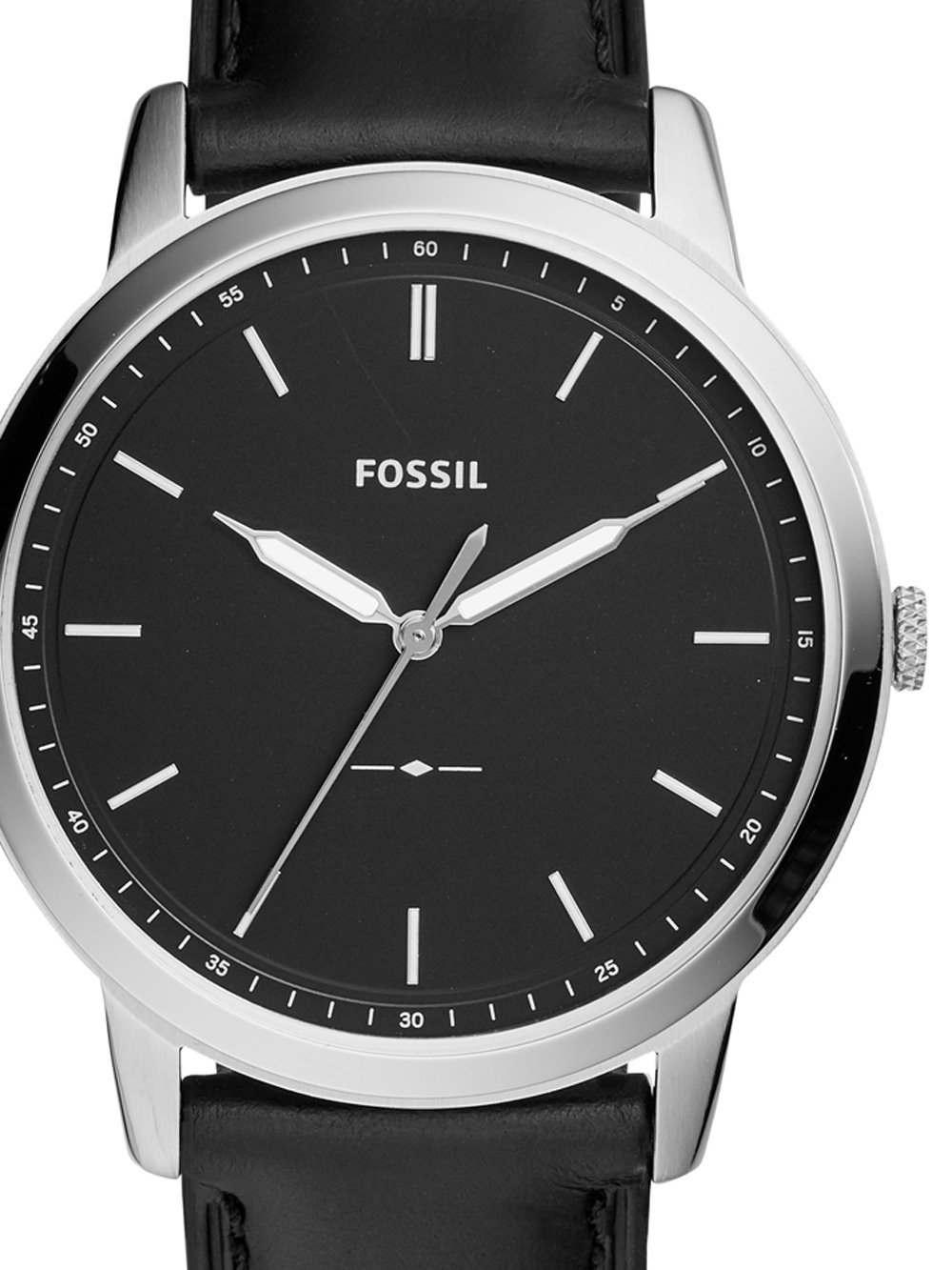 ceas barbatesc fossil fs5398 the minimalist 44mm 5atm