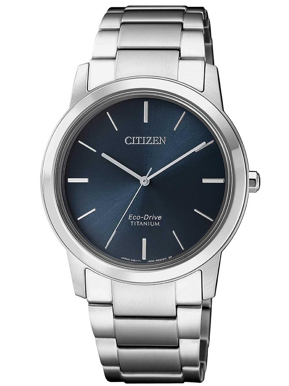 ceas de dama citizen fe7020-85l eco-drive super titanium 34mm 5atm