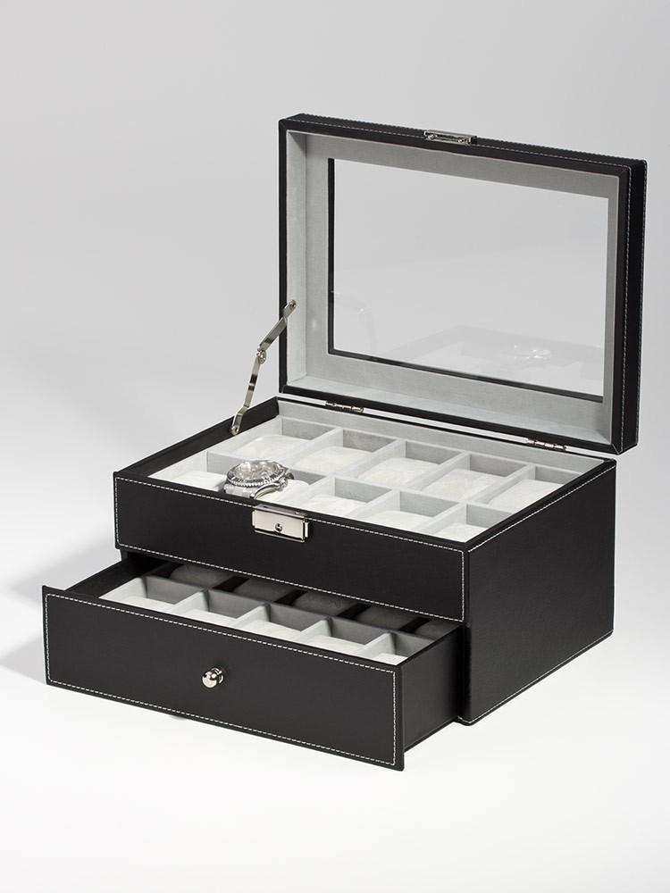 cutie ceasuri rothenschild rs-1683-20bl 20 ceasuri