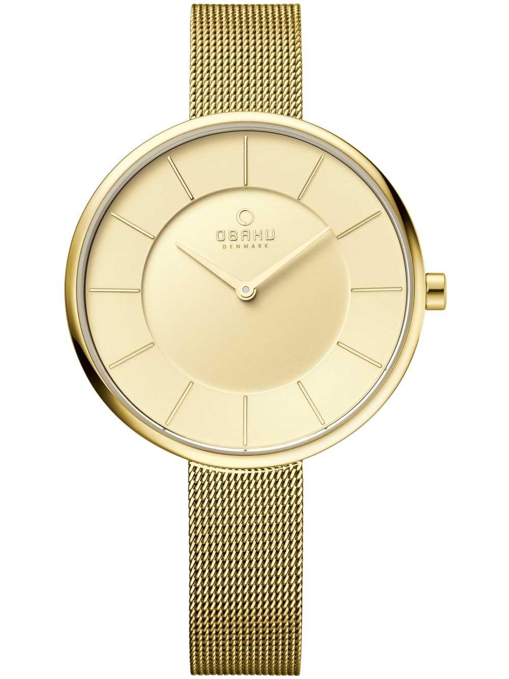 ceas de dama obaku v185lxggmg 38mm 3atm