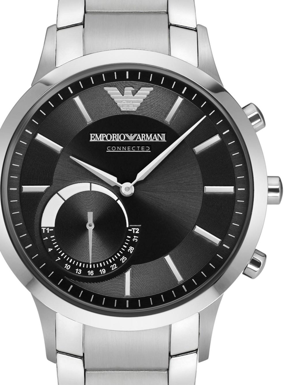 ceas barbatesc emporio armani art3000 alberto connected smartwatch 43mm 3atm