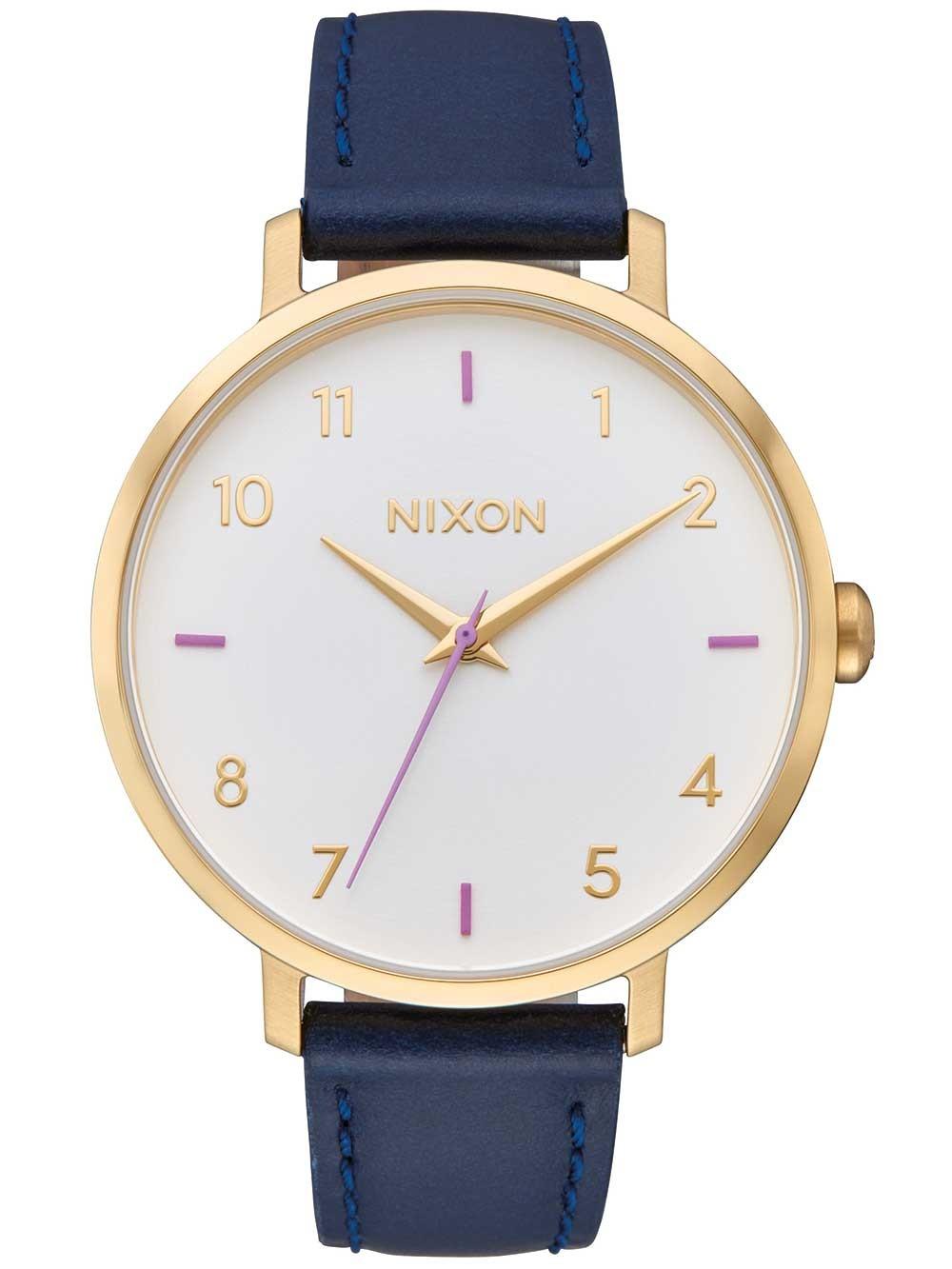 ceas de dama nixon a1091-151 arrow leather 38mm 5atm