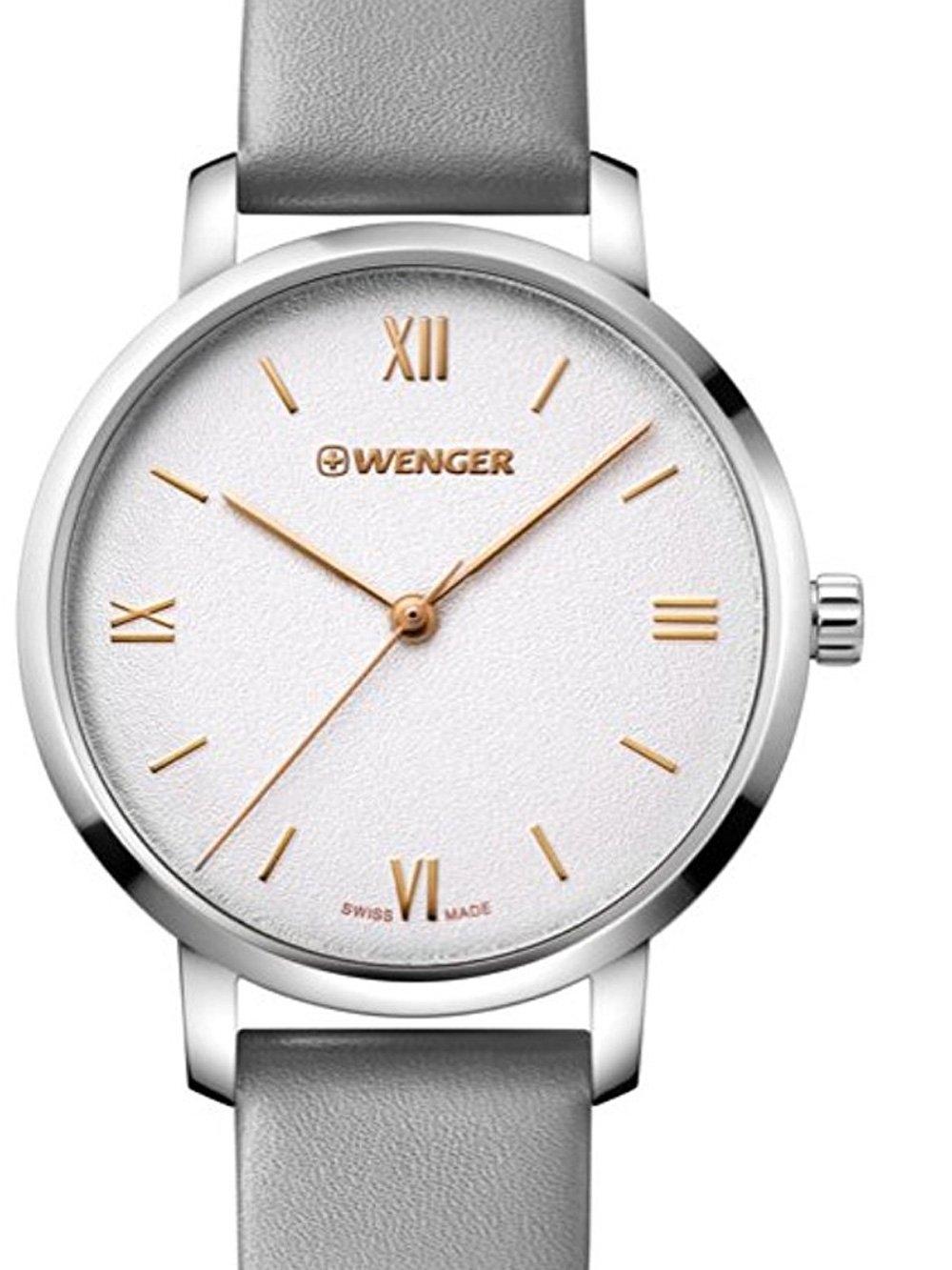 ceas de dama wenger 01.1731.105 metropolitan donnissima 38mm 10atm